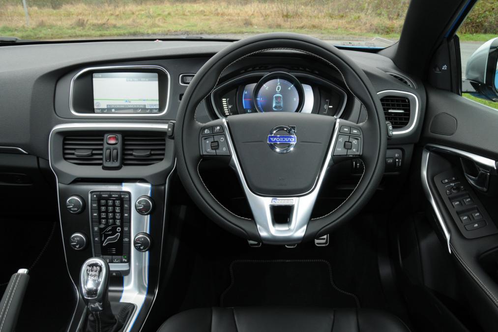 Volvo v40 petrol private fleet for Interior volvo v40