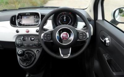 Fiat 500 S Interior