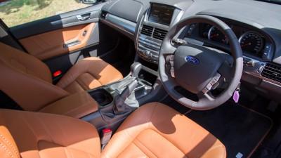 Ford FG X Falcon Interior