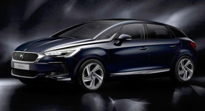Citroen DS5 Blue HDi