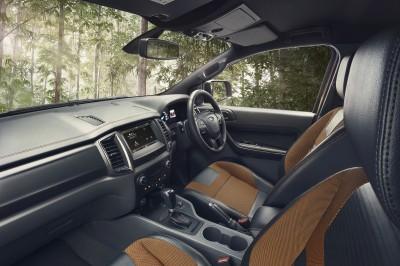 Ford Ranger Diesel Interior