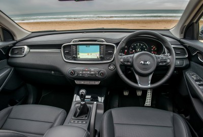 Kia Sorento Diesel Interior