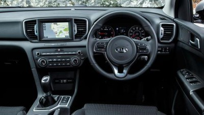 Kia Sportage Diesel Interior