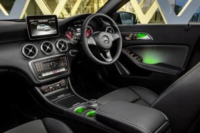 Mercedes Benz A-Class Interior 2016