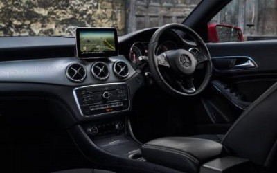 Mercedes Benz CLA Shooting Brake Interior