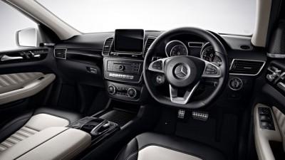 Mercedes Benz GLE SUV Diesel Interior