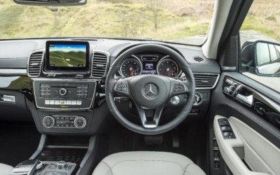 Mercedes Benz GLS Interior