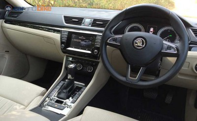 Skoda Superb Diesel Interior