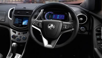 Holden Trax Petrol interior: LTZ model