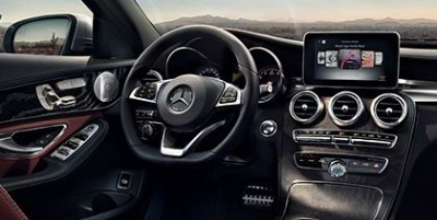 Mercedes-Benz C-Class Hybrid interior - overseas model