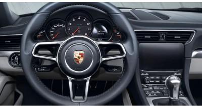 Overseas model of 2016 Porsche 911 Carrera  shown.