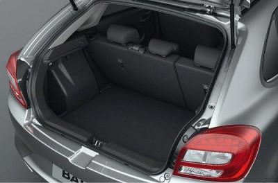Suzuki Baleno luggage space