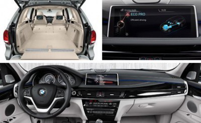 BMW X5 xDrive40e features