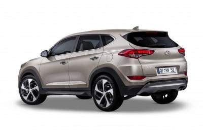 Hyundai Tucson Diesel Rearview