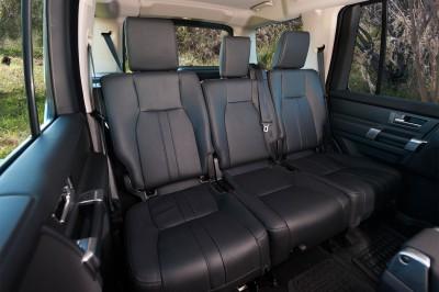 Land Rover Discovery TDV6 Rear Seats