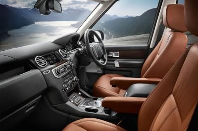 Land Rover Discovery TDV6 Landmark Interior