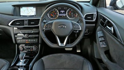 Infiniti Q30 Dash Design