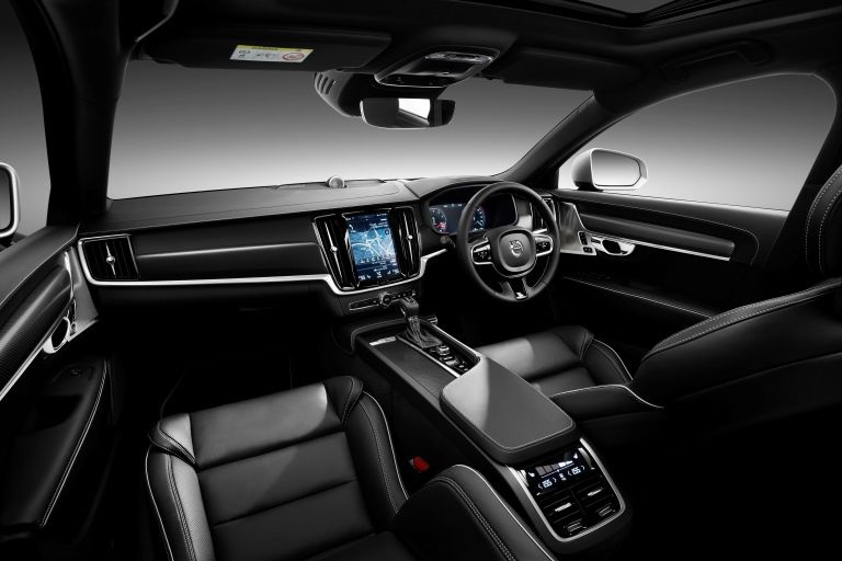 Volvo v90 t8 for All blacks interiors