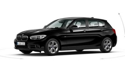 The 2017 BMW 1 Series Diesel sitting pretty on 16-inch alloys.