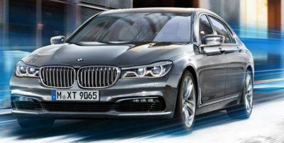 BMW 740e iPerformance sedan: luxury in a hybrid form