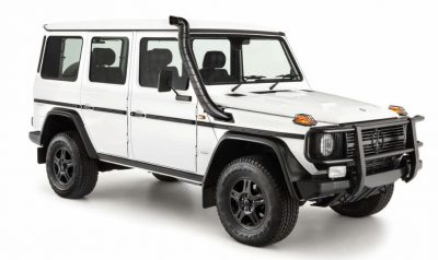 Mercedes-Benz G-Class Professional in white.